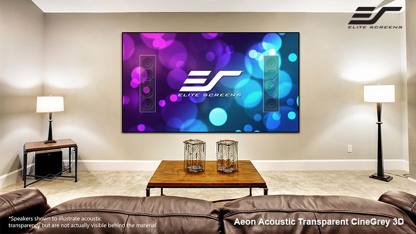 Aeon Acoustic Transparent CineGrey 3D